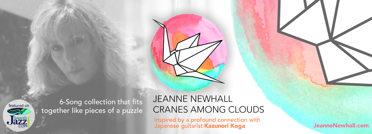 Jeanne Newhall - Cranes Among Clouds
