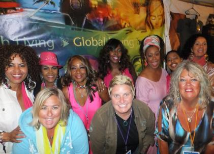 SmoothJazz.com Staff with Jazz in Pink 2012